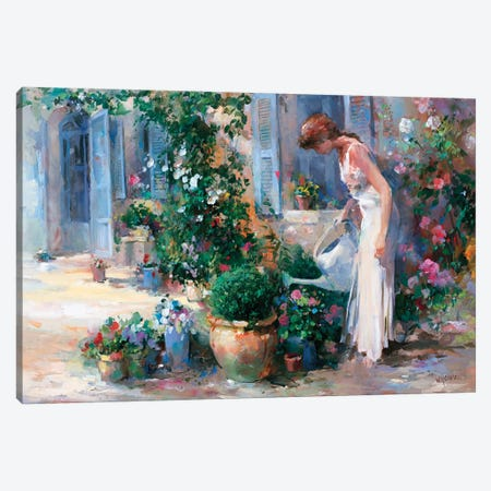 Romantico Tres Canvas Print #HAE218} by Willem Haenraets Canvas Art Print