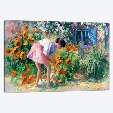 Romantico Uno Canvas Print #HAE219} by Willem Haenraets Canvas Art Print