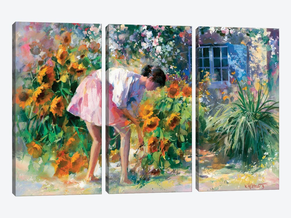 Romantico Uno by Willem Haenraets 3-piece Canvas Artwork