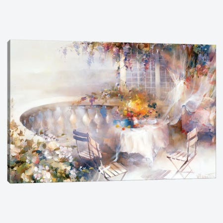Serenade Canvas Print #HAE224} by Willem Haenraets Canvas Art Print