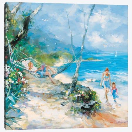 Serenity Canvas Print #HAE225} by Willem Haenraets Canvas Art Print