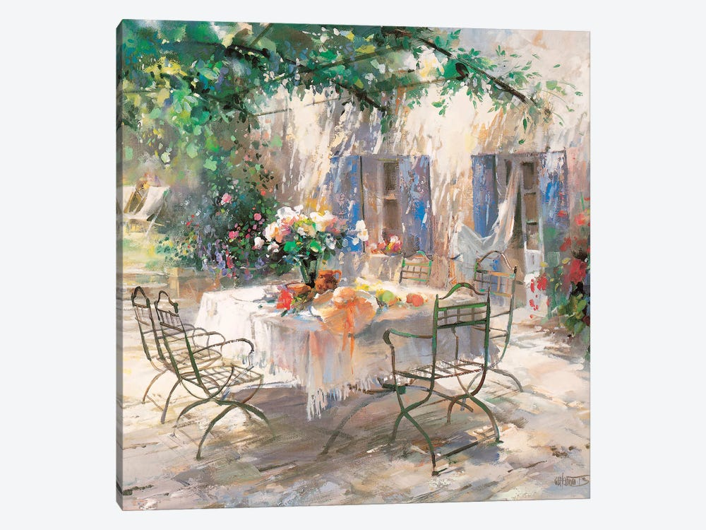 Shadow Garden by Willem Haenraets 1-piece Canvas Artwork