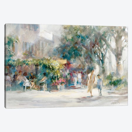 Shady Sunday Canvas Print #HAE227} by Willem Haenraets Canvas Art Print