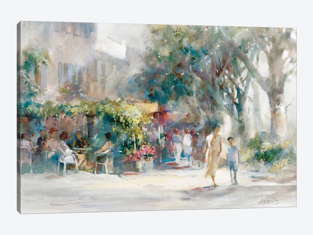 Shady Sunday by Willem Haenraets 1-piece Canvas Art Print