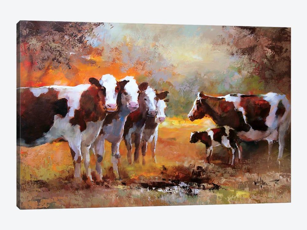 Calf by Willem Haenraets 1-piece Canvas Artwork