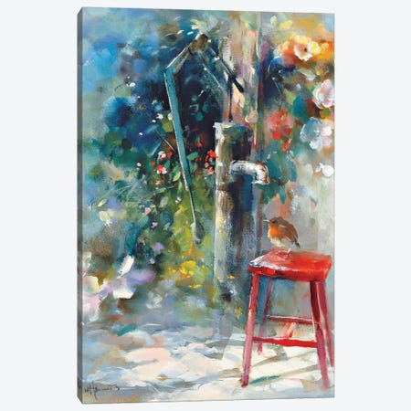Silent Garden Canvas Print #HAE238} by Willem Haenraets Canvas Print