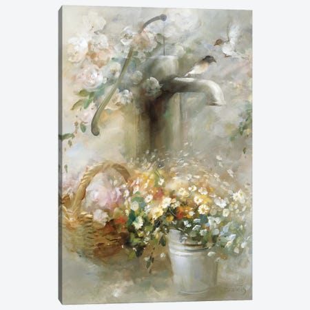 Soft Touch I Canvas Print #HAE240} by Willem Haenraets Canvas Art
