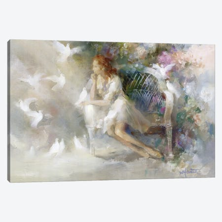 Soft Touch II Canvas Print #HAE241} by Willem Haenraets Canvas Wall Art
