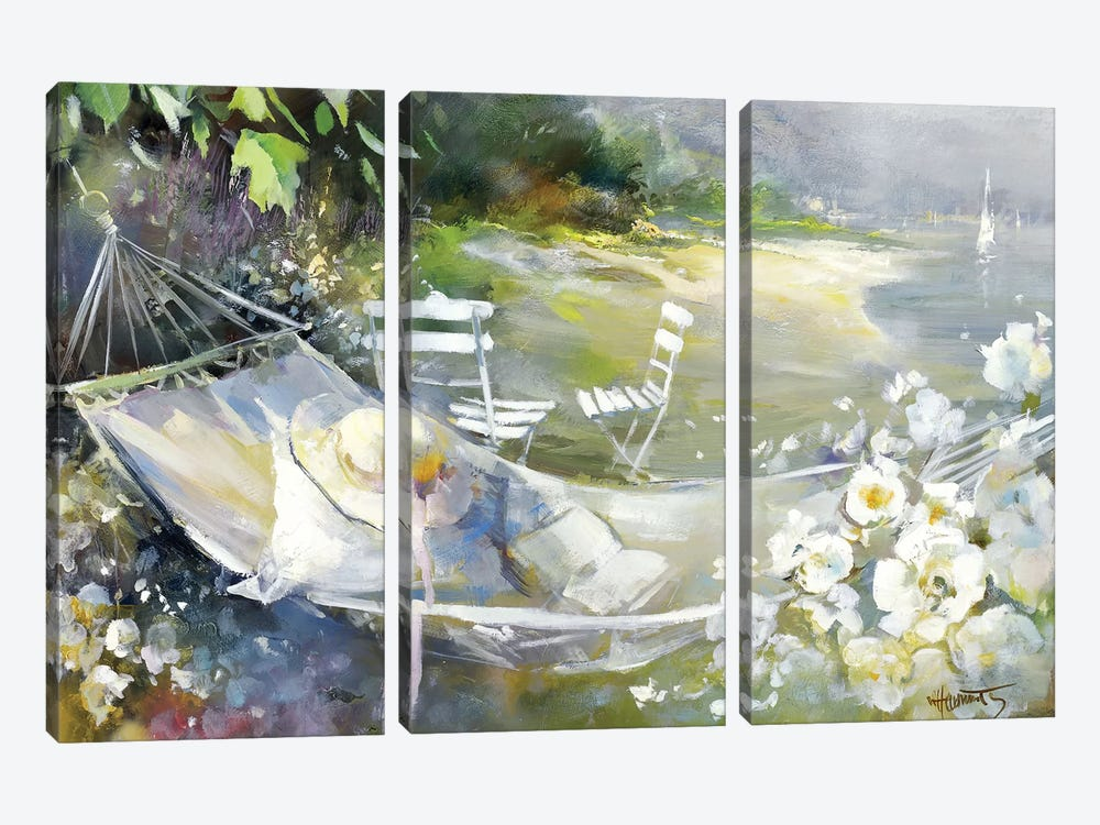 Soft Touch III by Willem Haenraets 3-piece Canvas Artwork