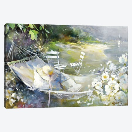 Soft Touch III Canvas Print #HAE242} by Willem Haenraets Canvas Wall Art