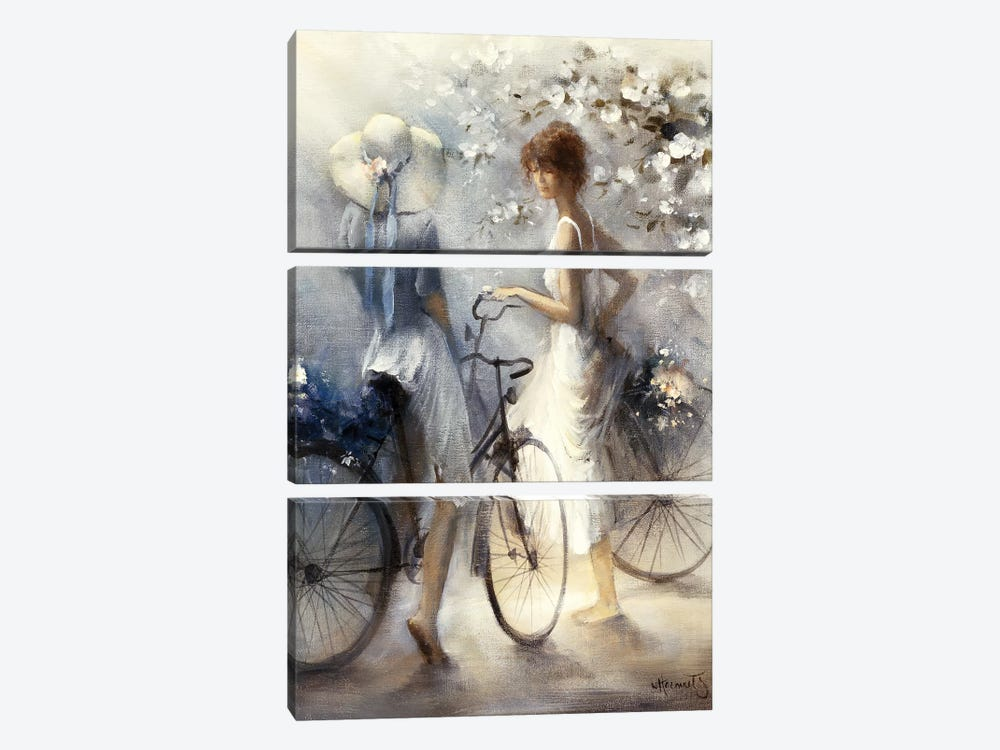 Spring by Willem Haenraets 3-piece Canvas Art