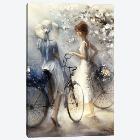 Spring Canvas Print #HAE246} by Willem Haenraets Art Print