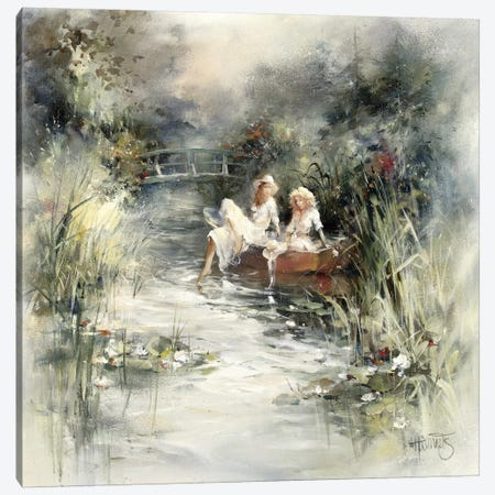Springshine Canvas Print #HAE247} by Willem Haenraets Canvas Art Print