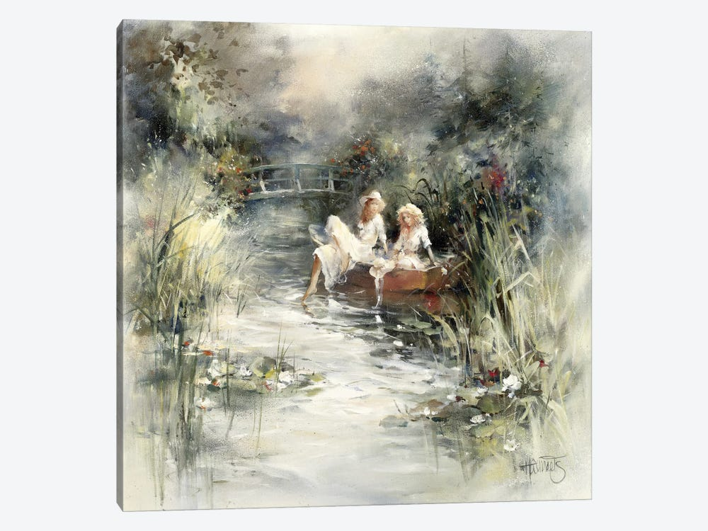 Springshine by Willem Haenraets 1-piece Canvas Print