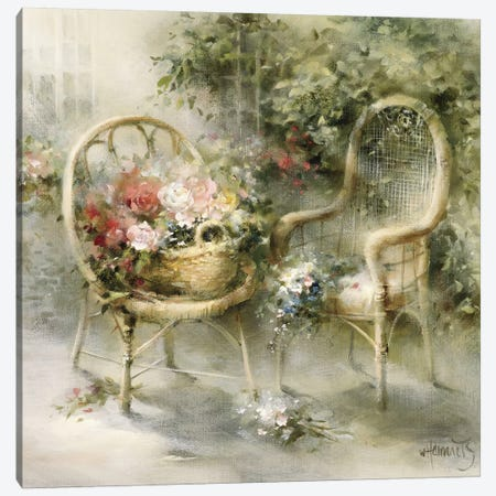 Summer Canvas Print #HAE249} by Willem Haenraets Canvas Artwork