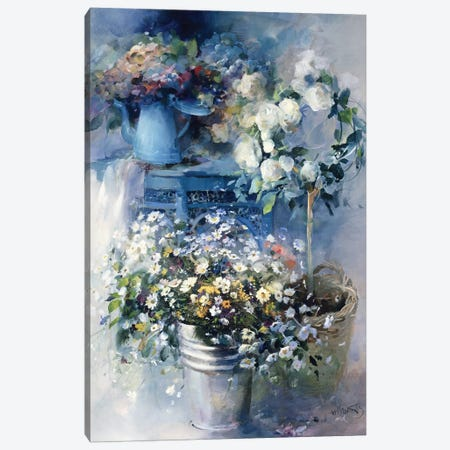 Summer Gift Canvas Print #HAE250} by Willem Haenraets Canvas Art Print