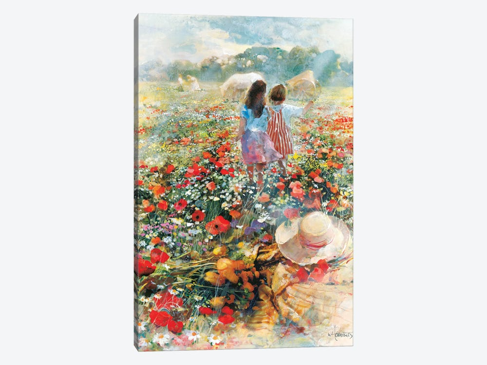 Summer Of Love by Willem Haenraets 1-piece Canvas Art Print