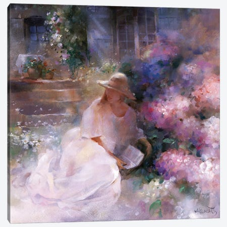Sunday Afternoon Canvas Print #HAE253} by Willem Haenraets Art Print