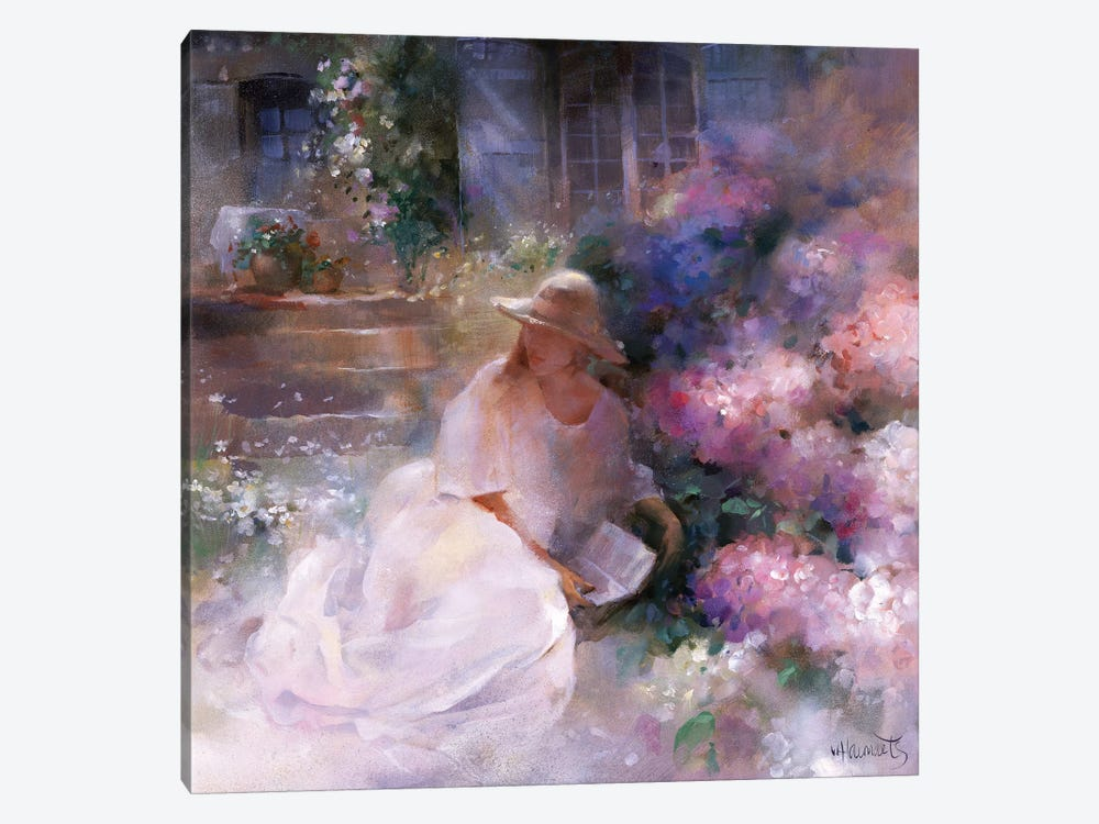 Sunday Afternoon by Willem Haenraets 1-piece Canvas Artwork