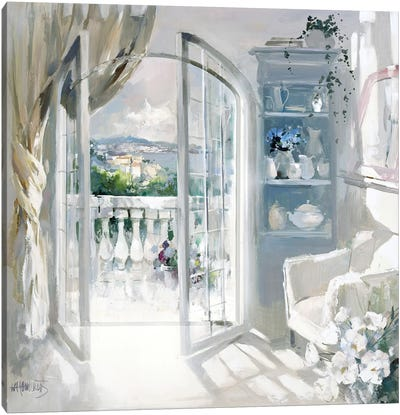Sunny Room Canvas Art Print