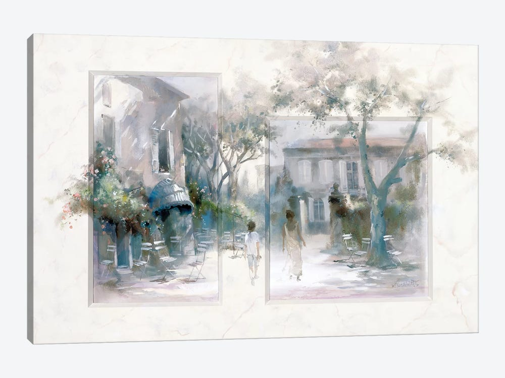 Taking A Stroll by Willem Haenraets 1-piece Canvas Art Print