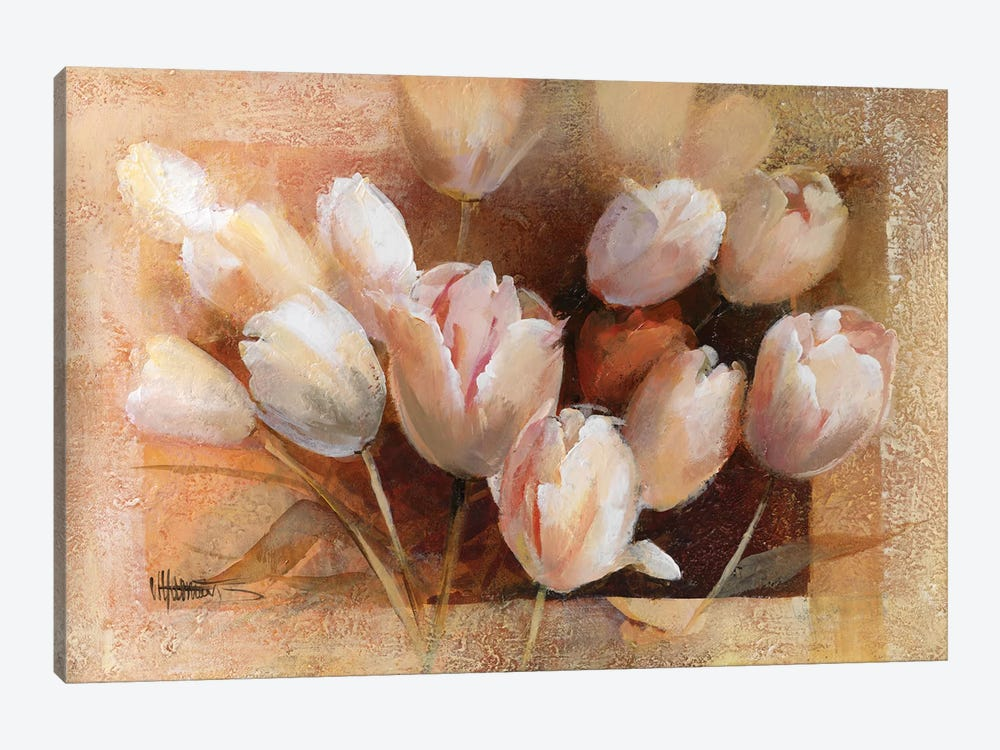 Thea's Tulips For You by Willem Haenraets 1-piece Canvas Art