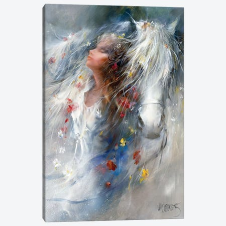 Thoughts Canvas Print #HAE264} by Willem Haenraets Art Print