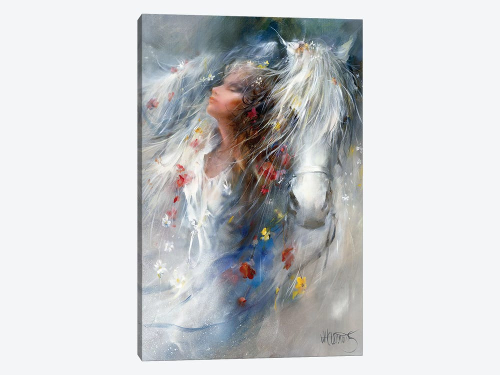 Thoughts by Willem Haenraets 1-piece Canvas Art