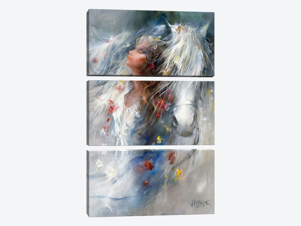 Thoughts by Willem Haenraets 3-piece Canvas Art