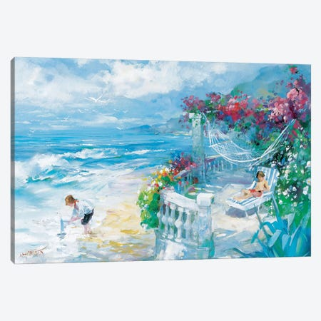 Tranquility Canvas Print #HAE266} by Willem Haenraets Canvas Art Print