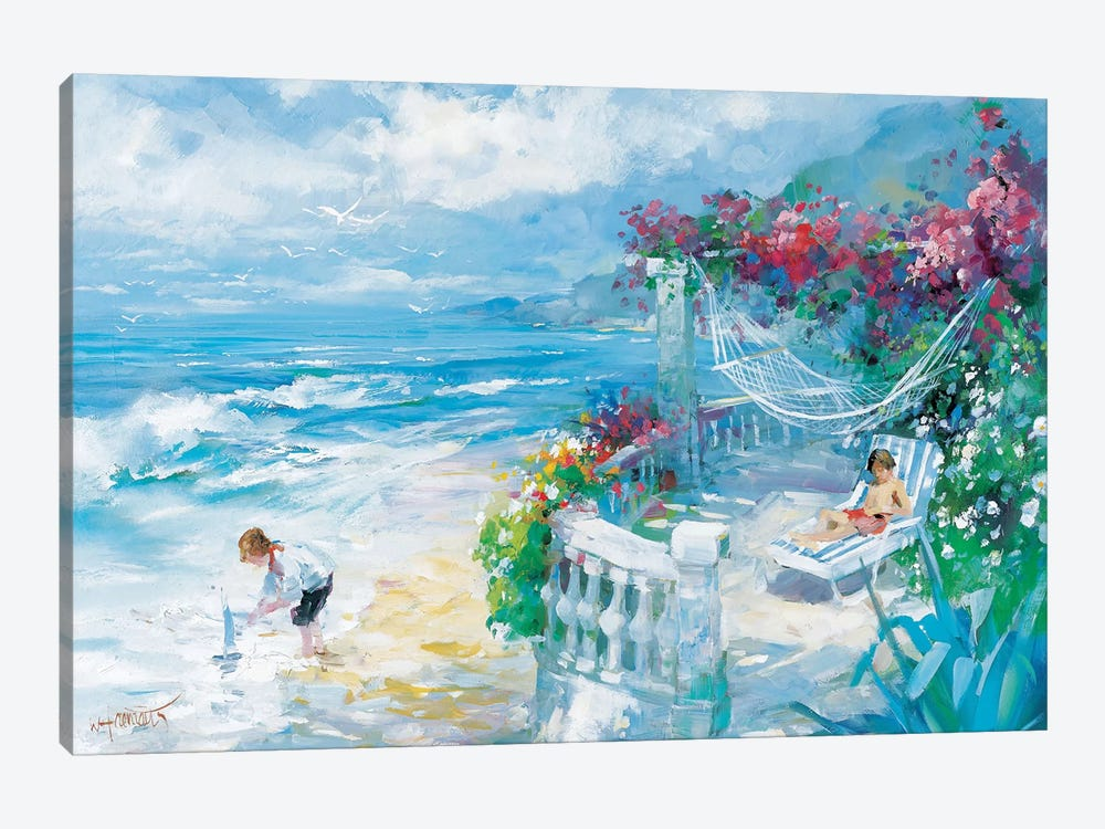 Tranquility by Willem Haenraets 1-piece Canvas Wall Art