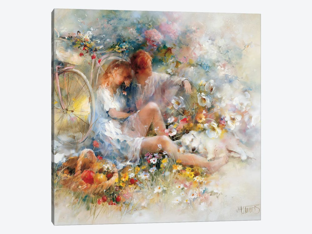 Trip In Spring by Willem Haenraets 1-piece Canvas Art Print