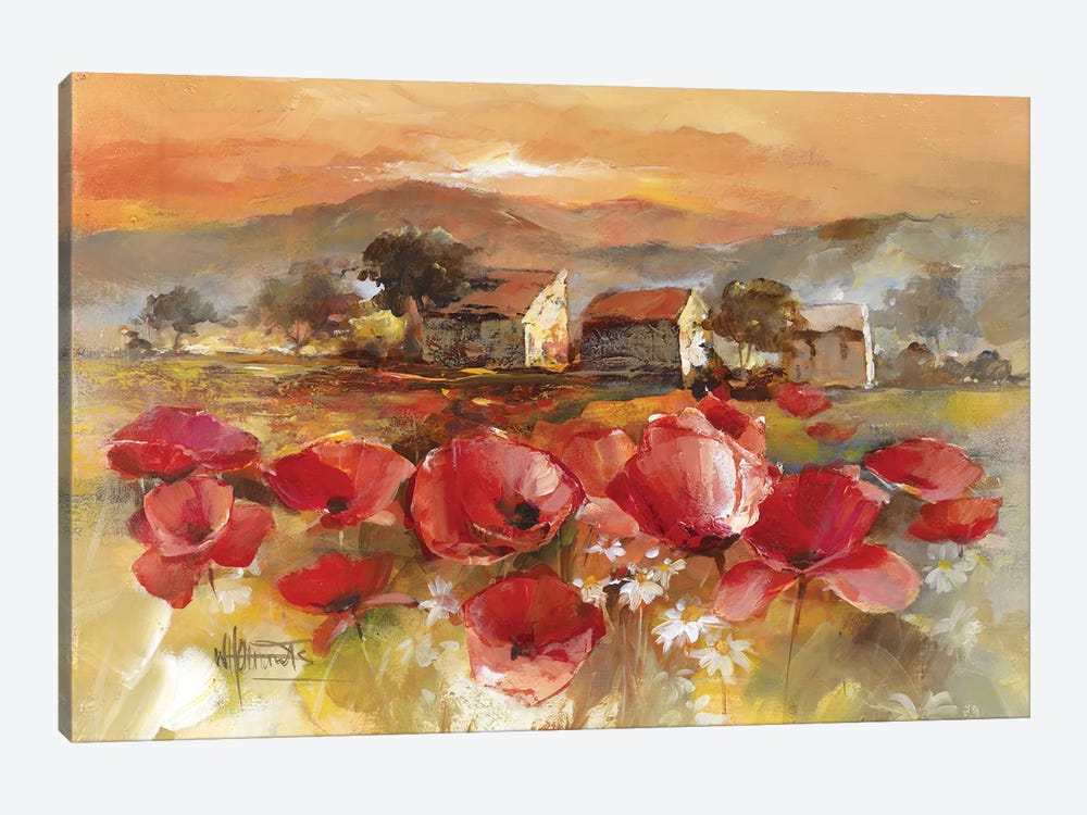 Tuscan Romance II by Willem Haenraets 1-piece Canvas Art Print