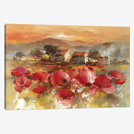 Tuscan Romance II Canvas Print #HAE269} by Willem Haenraets Canvas Wall Art