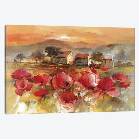 Tuscan Romance II Canvas Print #HAE269} by Willem Haenraets Canvas Wall Art