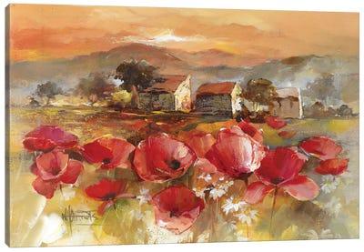 Tuscan Romance II Canvas Art Print