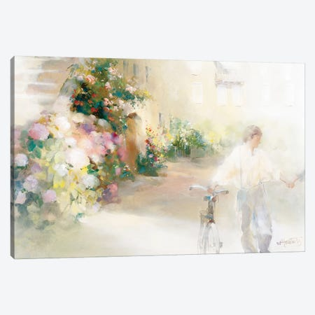 Two Happy People Canvas Print #HAE270} by Willem Haenraets Canvas Art Print