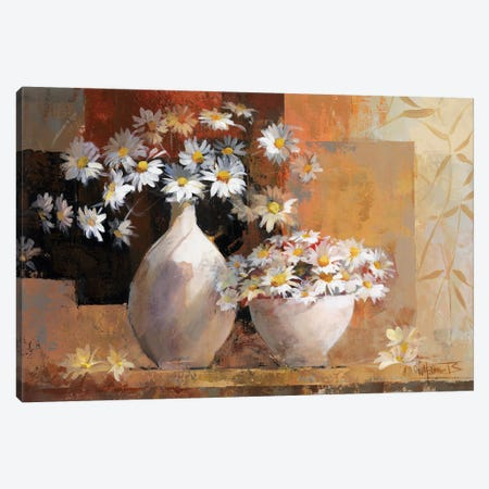 Vintage Flowers I Canvas Print #HAE272} by Willem Haenraets Art Print