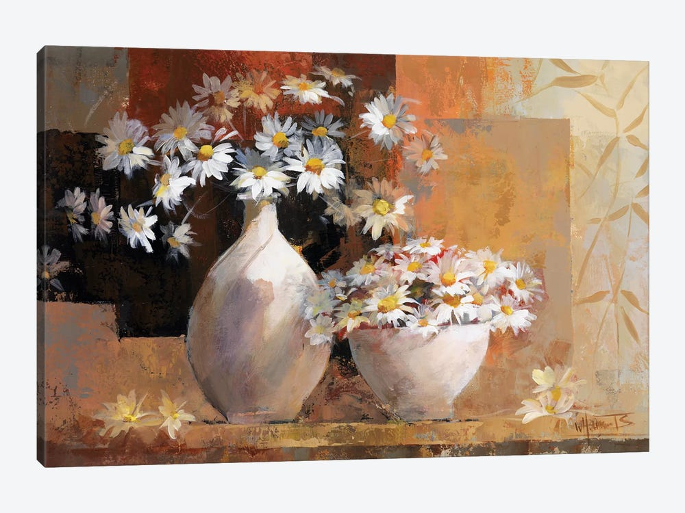 Vintage Flowers I by Willem Haenraets 1-piece Art Print