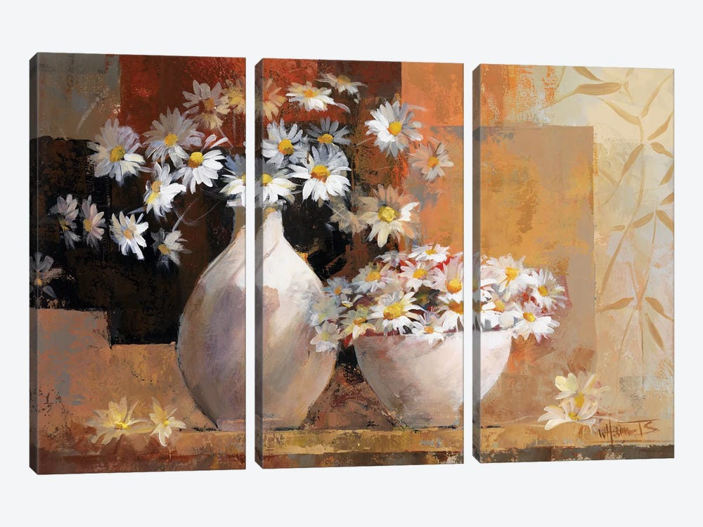 Vintage Flowers I by Willem Haenraets 3-piece Art Print