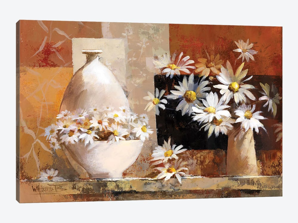 Vintage Flowers II by Willem Haenraets 1-piece Canvas Wall Art