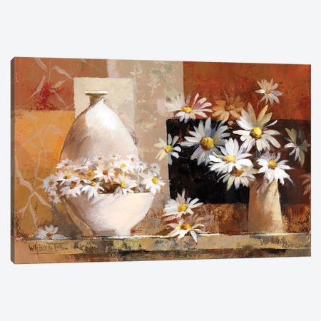 Vintage Flowers II Canvas Print #HAE273} by Willem Haenraets Art Print