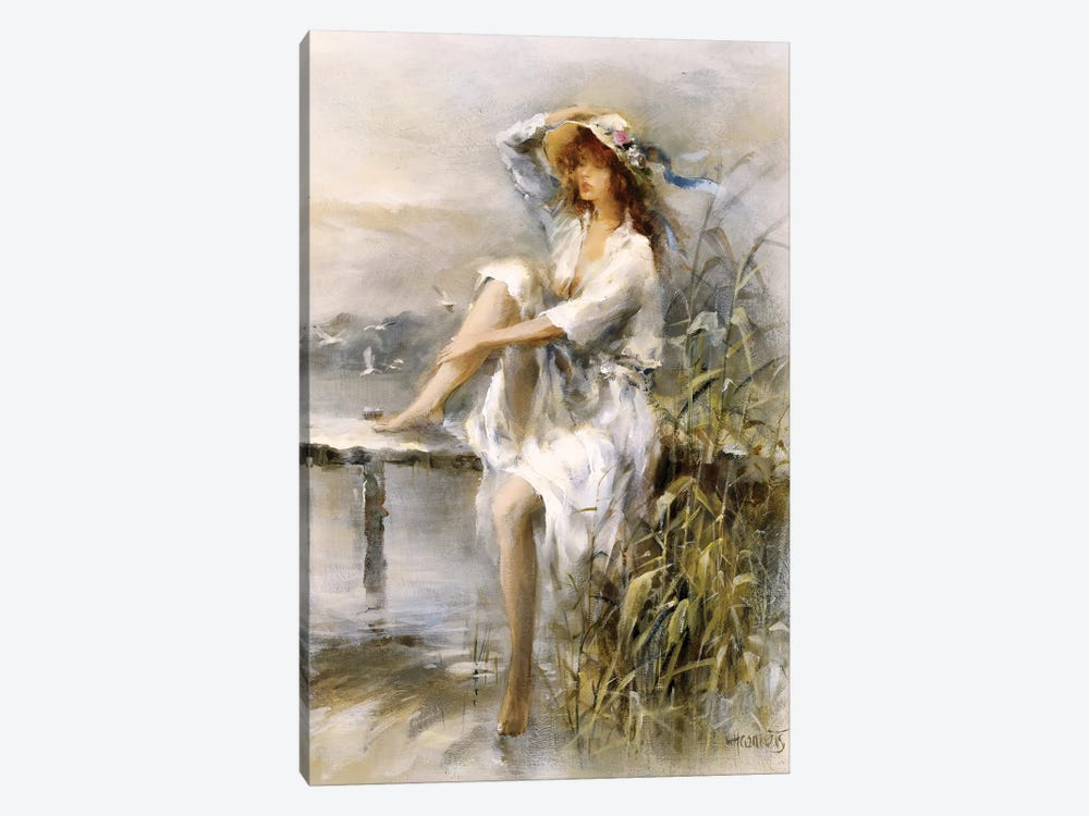 Waterside by Willem Haenraets 1-piece Art Print