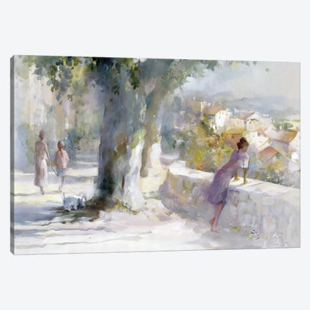 Whispering Wind Canvas Print #HAE275} by Willem Haenraets Canvas Artwork