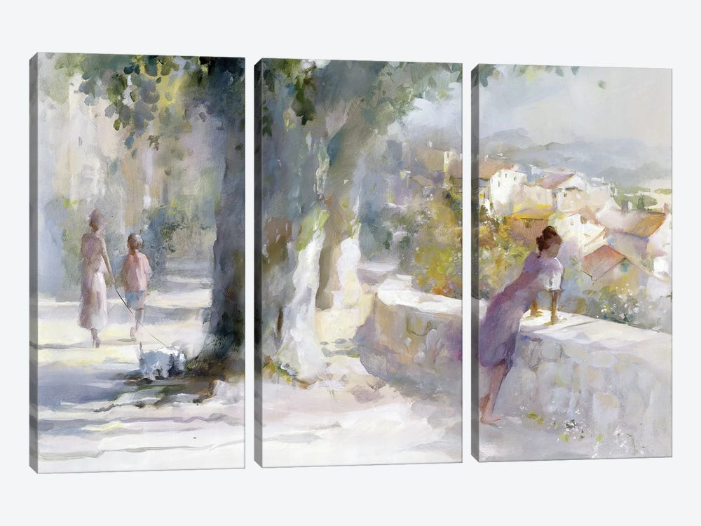 Whispering Wind by Willem Haenraets 3-piece Canvas Wall Art