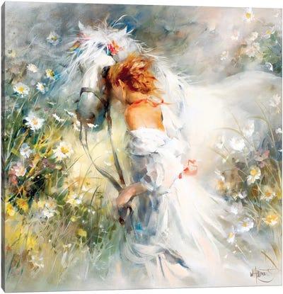 White Dream Canvas Art Print