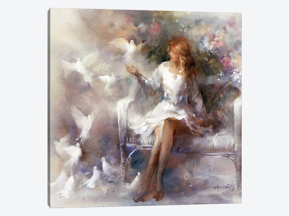 White Dreams by Willem Haenraets 1-piece Canvas Print