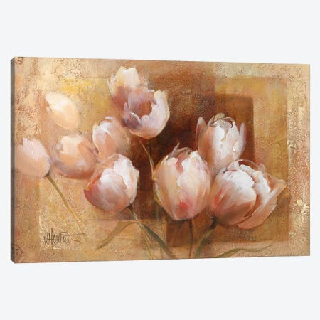 Willem's Tulips For You Canvas Print #HAE279} by Willem Haenraets Canvas Art Print