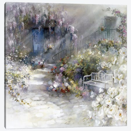 Wordless Canvas Print #HAE280} by Willem Haenraets Canvas Wall Art