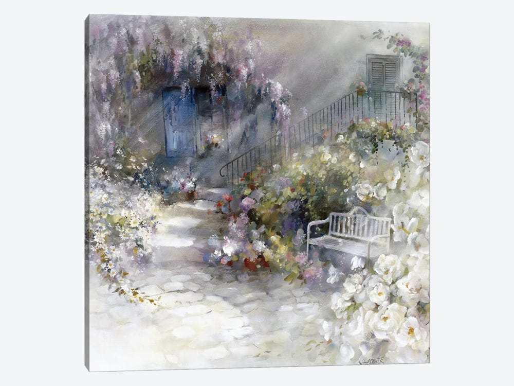 Wordless by Willem Haenraets 1-piece Canvas Wall Art